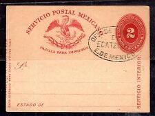 MEXICO 1880 OFFICIAL  NEWSPAPER WRAPPER WITH OFFICIAL OVAL SEAL  VERY RARE