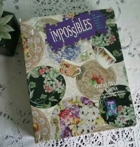 Bepuzzled Impossibles GREAT WALL OF CHINA Jigsaw 750+5 Piece Complete