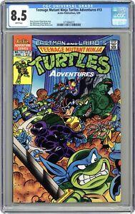 Teenage Mutant Ninja Turtles Adventures #13 CGC 8.5 1990 3714940015
