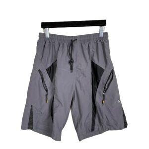 Santic Gray Men's size L Cycling Padded Loose Shorts