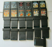 Lot of 25 Atari 2600 Games TESTED Asteroids Defender Tron Deadly Discs AT2