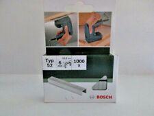 Bosch Flachdrahtklammer Tackerklammern  Typ 52, 12,3 x 1,25 x 6 mm Neu in Box