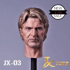 "Star Wars 1/6 Scale Han Solo Head Sculpt for 12"" Action Figure"
