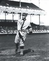 1910's Walter Johnson Pitching Conlon Photo Produced From Original Negative
