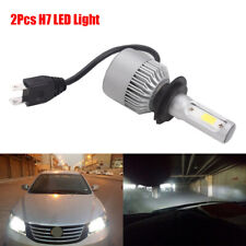 2x H7 Car Super Bright White LED Bulb Headlight Driving Light With Accessories