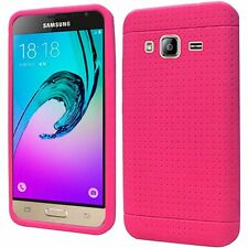 For Samsung Galaxy J3 Amp Prime Express Soft Silicone Jelly Skin Cover Case New