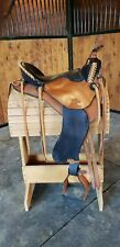 "Beautiful Synergist Western Trail Saddle - 15.5"" seat - Gently Used"