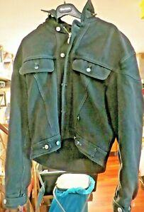 BMW Maverick Leather Keflar Size 50/48 Biker Outfit Denim Erstklassig