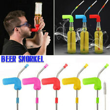 Beer Snorkel Funnel Drinking Straw Games Hens Bucks Bar Party Entertainment