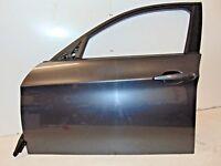 BMW 3 SERIES E90 SALOON N/S PASSENGER SIDE FRONT DOOR BARE GRAPHITE GREY 2005-08