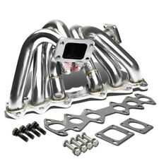 FOR 86-92 SUPRA A70 1JZ-GE/-GTE T3 STAINLESS STEEL TURBO CHARGER HEADER MANIFOLD