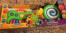 The Early Learning Little Piano Tunes & Pull Along Snail Drum