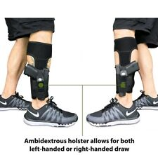 Ankle Gun Holster for Concealed Carry/Magazine or Knife Pocket