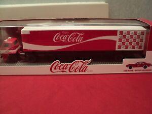 "M2 1970 Dodge COE /70 Dodge Superbee ""Coca- Cola"" w/display case 1/64 scale NIB"
