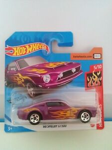 Hot Wheels  68 Ford Shelby GT 500
