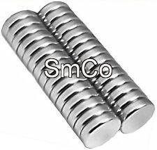 30 Samarium Cobalt  Magnets 1/4 x 1/16 inch Disc SmCo 30