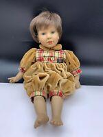 Künstlerpuppe Vinyl Puppe 42 cm. Top Zustand