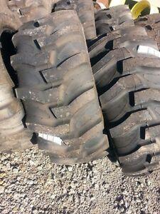 ONE New 17.5Lx24 R4  Kubota,  John Deere Farm Tractor Tire