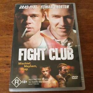 Fight Club DVD R4 Like New! FREE POST