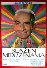 THE BAND 1970 FRENCH LOUIS DE FUNES NOELLE ADAM SERGE KORBER EXYU MOVIE POSTER