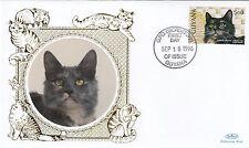 (81158) Guyana Benham FDC Cats - 18 September 1996