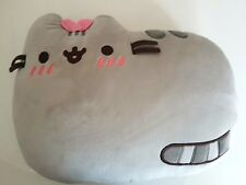 OFFICIAL Pusheen shy embarrased bow Exclusive Pillow bed sofa plush cushion