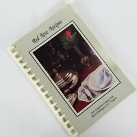 Vintage Washington D.C. Cookbook New Neighbors League Club Metro Red Rose Recipe