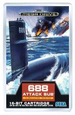 688 ATTACK SUB MEGA DRIVE FRIDGE MAGNET IMAN NEVERA