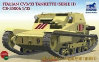 Bronco 1/35 35006 Italian CV3/33 Tankette Series II Hot