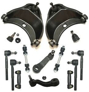 14 New Pc Control Arms Sway Bar Tie Rod Ends Kit for Chevrolet C1500 C2500 Tahoe