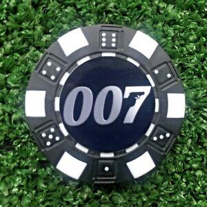 """ 007 ""   POKER DICE  GOLFBALL  MARKERS VARIOUS QTY  FREE U.K.P&P"