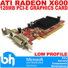 ATI Radeon X600 128MB Graphics Card PCI-E DVI 109-A26030-01 Low Profile 0J9133