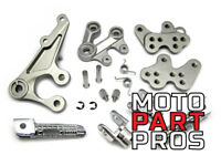 2005 - 2016 Suzuki GSXR 1000 OEM REPLACEMENT Silver Front Foot Peg Assembly