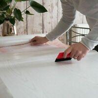 2m X 45cm Wide WHITE ASH WOODGRAIN WOOD STICKY BACK PLASTIC SELF ADHESIVE VINYL