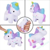 Lovely Rainbow Unicorn  Squishy Toys Anti-stress Decompression Funny Vent Toys