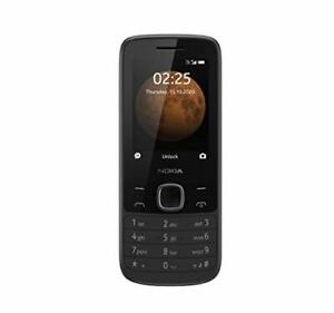 Nokia 225 Unlocked 4G Cell Phone Black AT&T T-Mobile Cricket Tracfone Simple ...