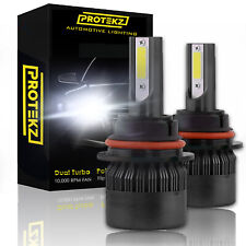 Protekz 6000K LED Fog Light Kit for 2007-2008 Acura TL H8 Fog Bulb