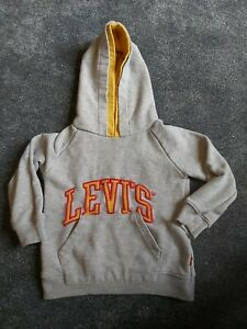 Boys Levis Hooded Top Age 3