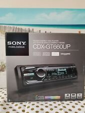 Sony Cdx-Gt660Up Cd Car Stereo Receiver Smartphone Usb Aux iPod Connectivity