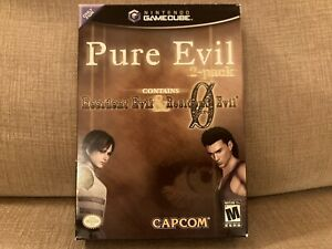 Pure Evil 2-Pack Nintendo GameCube Includes Resident Evil & RE0 Sealed!