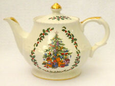 Schmid Musical Christmas Teapot Made England Excellent Handcrafted Tree
