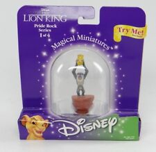 DISNEY'S THE LION KING ~ MAGICAL MINIATURES ~ Pride Rock Series (Rafiki & Simba)
