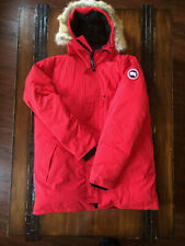 Canada Goose Chateau Down Parka fur Red Men's (2XL) missing button