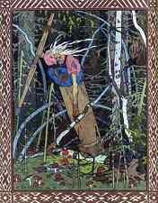 Ivan Bilibin Page 078 Fairy Art A4 Photo Print