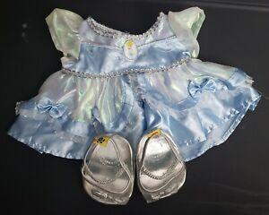 Build-A-Bear DISNEY PRINCESS CINDERELLA BLUE GOWN DRESS RETIRED Teddy Clothes