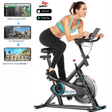 New ListingExercise Bike Stationary Bicycle Cycling Cardio Fitness 330lbs Capacity App-Ctrl