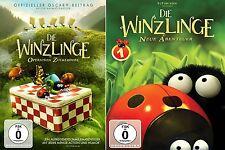 2 DVDs * DIE WINZLINGE - OPERATION ZUCKERDOSE +NEUE ABENTEUER IM SET # NEU OVP &