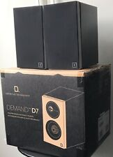 DEFINITIVE TECHNOLOGY demande D7-Noir-Haute Performance Bookshelf Speakers
