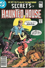 Secrets of Haunted House Comic Book #25, Dc Comics 1980 Fine