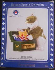 Carlton Cards Santa's Special Deliveries MILITARY Ornament US Army or Air Force